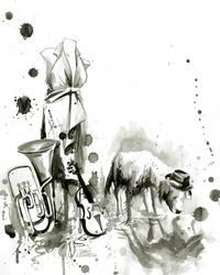FLEA MARKET by lora-zombie