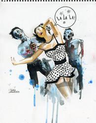 Zombie Love by lora-zombie