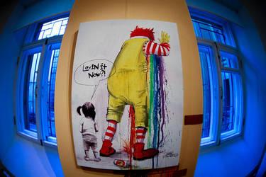 Grunge art by Lora Zombie VI by lora-zombie