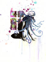 Octopus Girl by lora-zombie