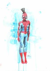 MR. Spiderman by lora-zombie