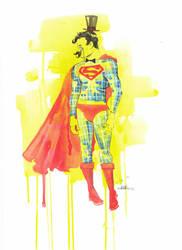 MR. Superman by lora-zombie