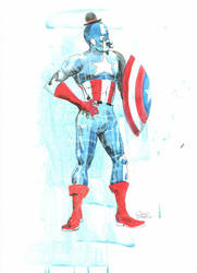 MR Captain America by lora-zombie
