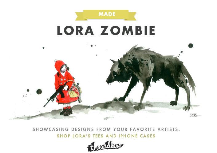 LORA ZOMBIE THREADLESS by lora-zombie