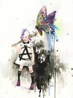 PRINCESS PUNK by lora-zombie