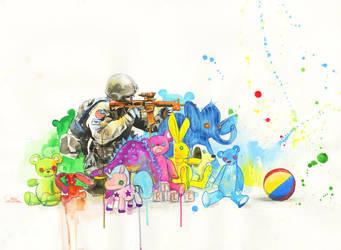WAR GAMES by lora-zombie