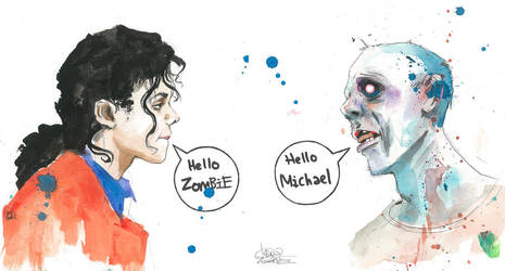 SKETCHBOOK DRAWING : Hello Zombie by lora-zombie