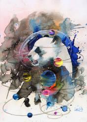PANDA UNIVERSE by lora-zombie