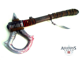 AC III - Connor's Tomahawk V1.2 by RBF-productions-NL