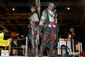 AC III cosplay at Firstlook 2012, Utrecht 3 by RBF-productions-NL