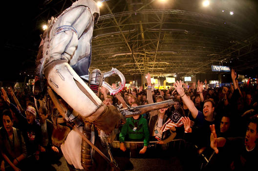 AC III - Connor at Firstlook 2012, Utrecht 2 by RBF-productions-NL