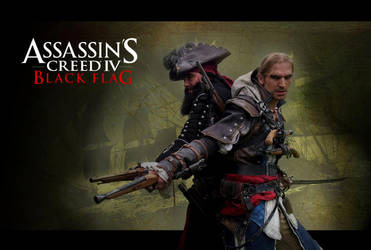 AC IV - Captain Blackbeard and Captain Kenway by RBF-productions-NL