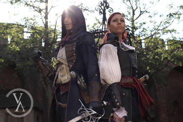 ACU - VIDEO Arno and Elise cosplay by RBF-productions-NL