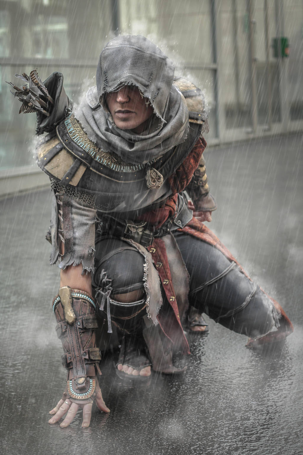 Ac Origins - Bayek out of the Animus - cosplay by RBF-productions-NL