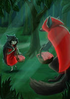 Little Red Riding Hoods by Synerese