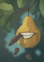 The Biting Pear of Salamanca by Synerese