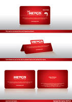Hepca Business cards by ramywafaa