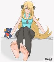 [Request] Cynthia by seishinashi