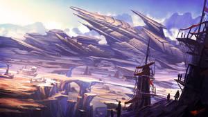 Canyon Crashsite by UNGDI-SEA