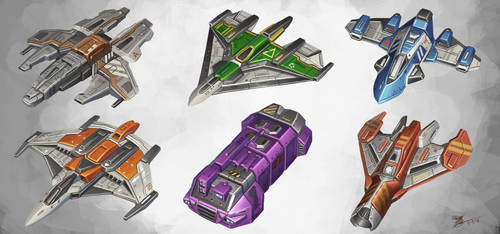 Ship Designs by UNGDI-SEA