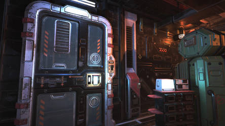 Unity3D Sci-Fi Enviornment 2 by UNGDI-SEA