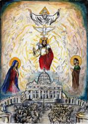 The Catholic Church by Aodhagain