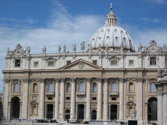 St. Peter's Basilica by Aodhagain