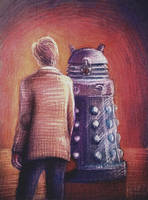 Doctor and Dalek by nokeek