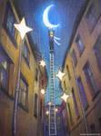Riga Starry Street by nokeek
