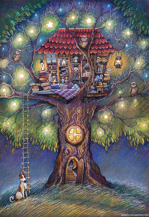 Tree House by nokeek
