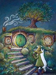 Moomin Hobbit by nokeek