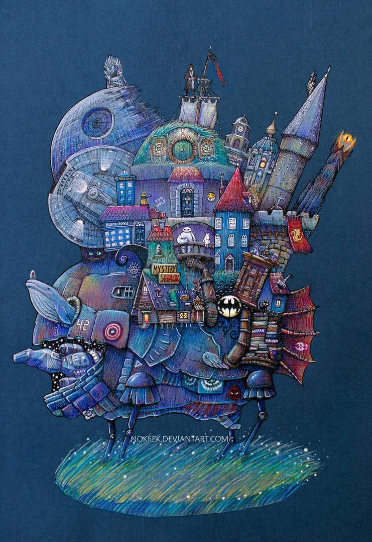 Fandom Moving Castle by nokeek