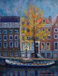 Amsterdam Autumn by nokeek