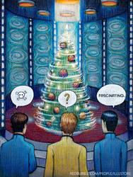 Star Trek Christmas by nokeek