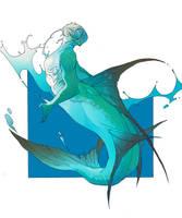 Tarpon Mermaid by salamispots
