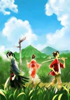 Samurai Champloo by genii-luo