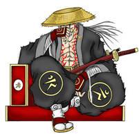 The Violent Samurai by MonkeyTheArtist