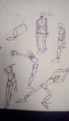 pose sketches by dannynather