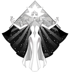 White Diamond by OrderOfTheRoyalWolf