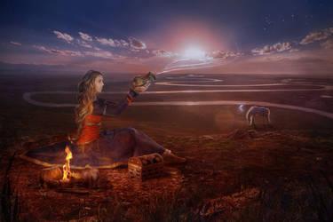 lullaby by Gven-ka