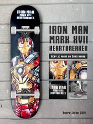 Iron Man Mark XVII Heartbreaker by cif3r
