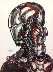 Iron Man Mark 3 Illustration by cif3r