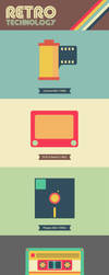 Retro Technology Illustrations (1908-1999) by cif3r
