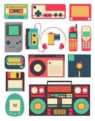 Retro Technology by cif3r