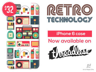 Retro Technology iPhone Case now available! by cif3r