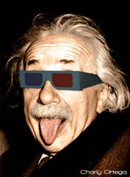 Einstein 3D by charlyn1004