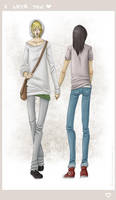Hipster Love by faore