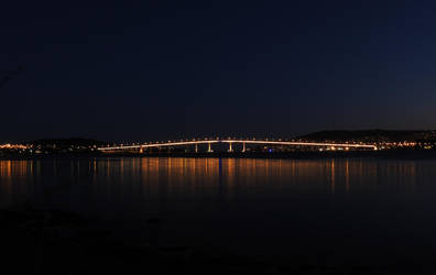 Tasman Bridge at Dusk by catemate