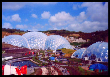 The Eden project by bathroom