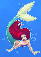 Ariel Quickie by Mermaid-Kalo